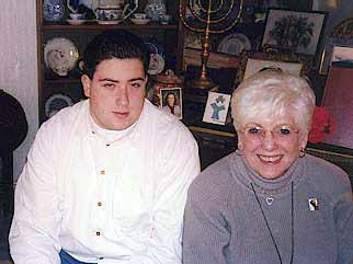 Morton with Grandmother (Lou's Mom)